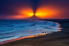 p-3 Sunset Camels 夕阳伴驼行 GPU金牌 曾汉超