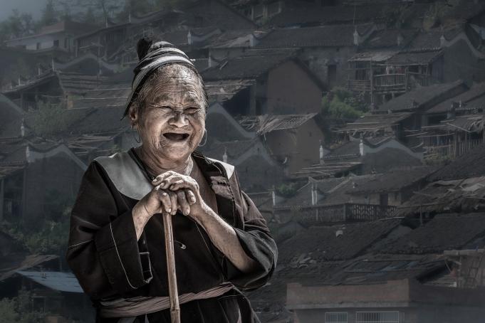 三等奖作品 瑶寨老人 陆伟麟摄
